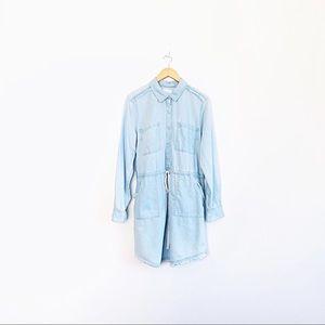 Caslon Chambray Shirt Dress